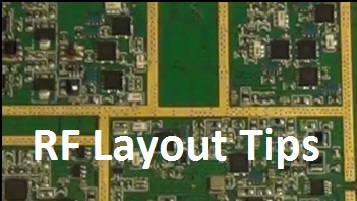 General RF Layout Tips and Tricks
